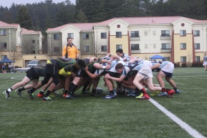 HSU Jacks Rugby versus Sonoma State. Photo | Curran Daly