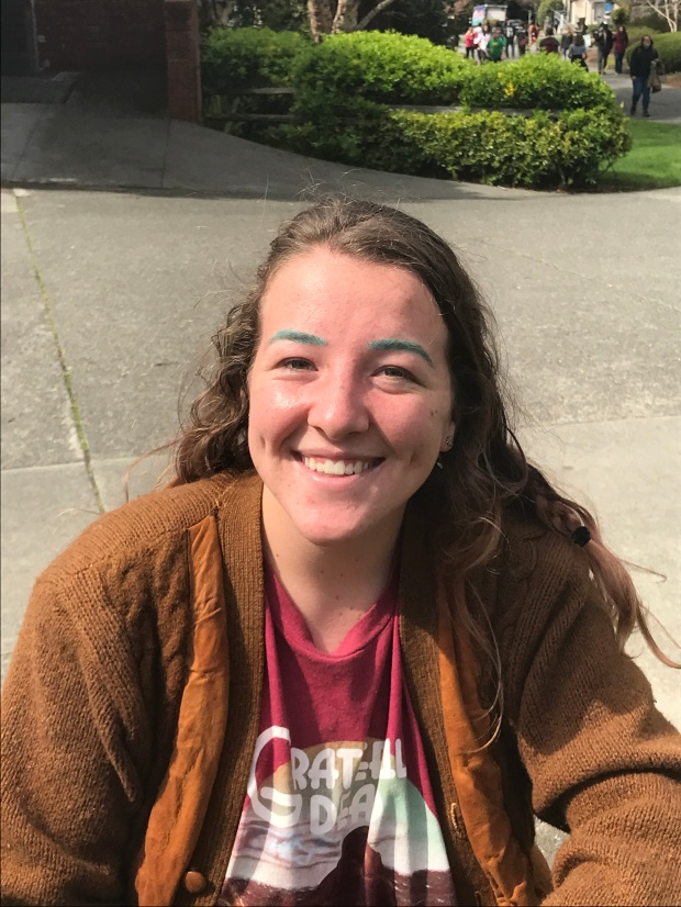 """Sarah Dunn, junior, religious studies. """"I just think it's bulls**t because it's not going to fund something worth funding. No one - no student at least - is going to benefit from it. The CSU system just seems as corrupt as the government that runs it."""""""
